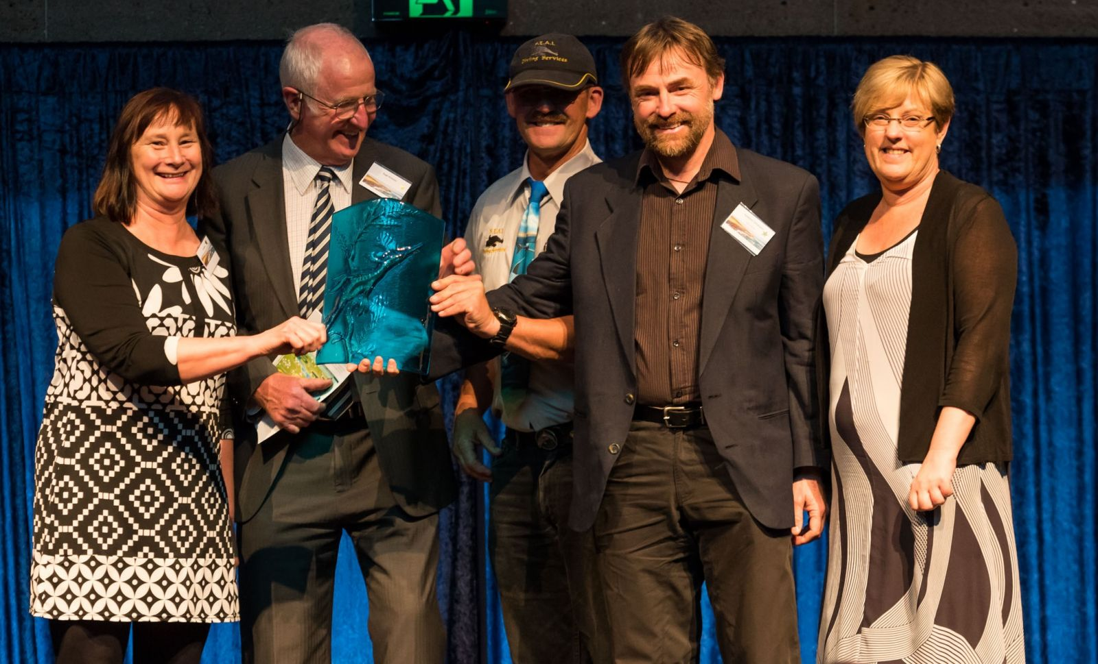 Natural Environment joint winner:Sea Search Program Parks Victoria - Ten Years of Corner Inlet Community Seagrass Monitoring