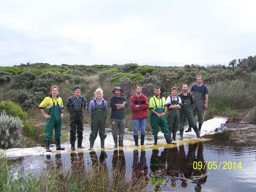 Community Action and Partnerships joint winner: Nelson Coastcare Group - Ecoliteracy advocates and Ramsar-worthy workers