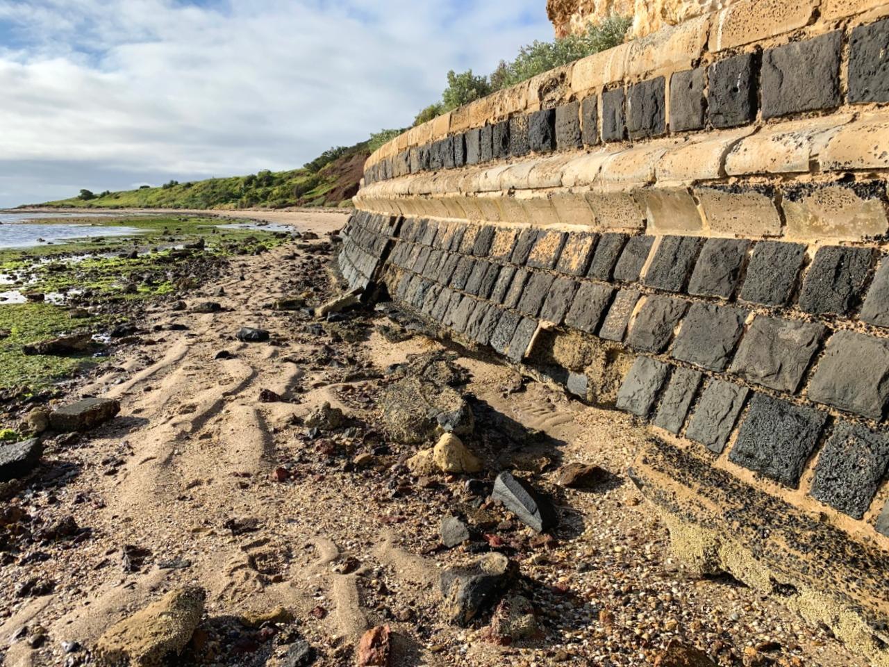 Portarlington seawall